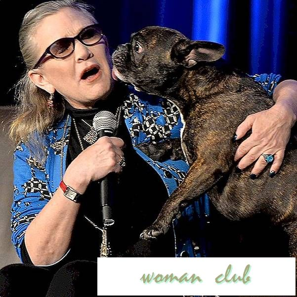 "Carrie Fisher's Dog Gary Is (soort van) in ""Star Wars: The Last Jedi"""