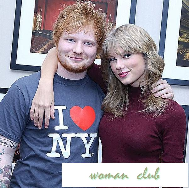 "Ed Sheeran reagerer på fanteori at Taylor Swift sang ""Dress"" handler om ham"