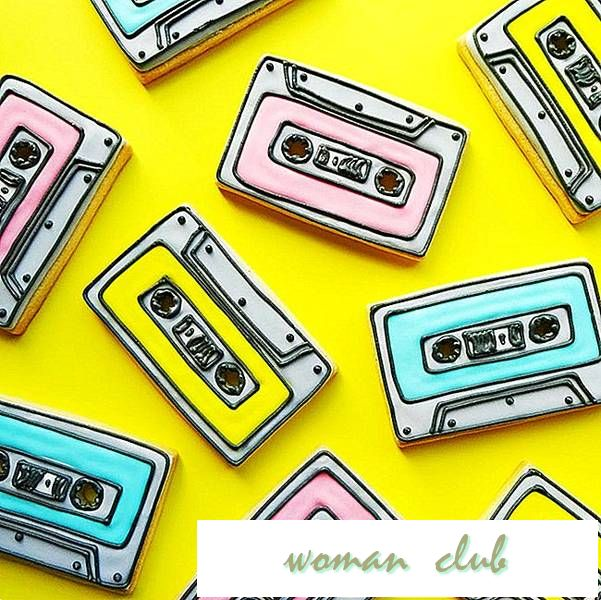 "La oss Rock'n' Roll med disse ""90s-Themed Cassette Cookies"""