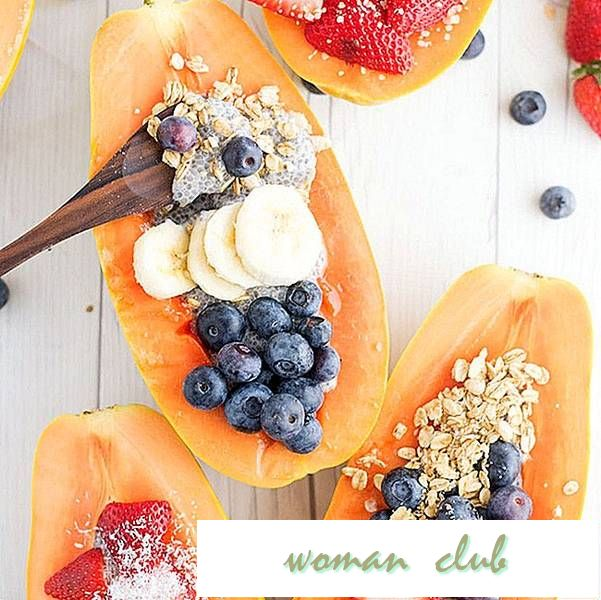 Add a Tropical Twist to Your Breakfast With Papaya Boats and Chia Pudding