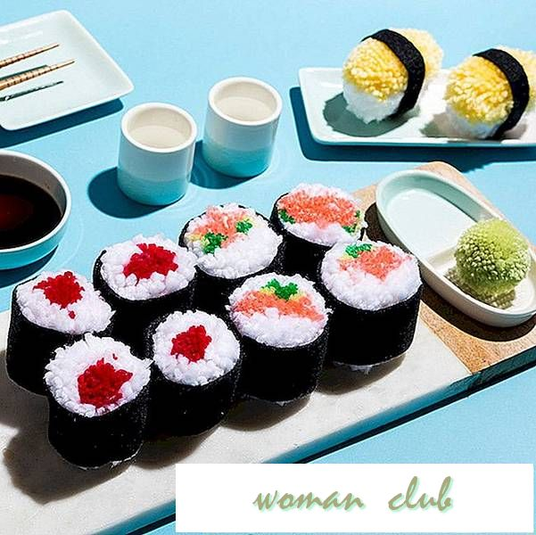 DIY en Sushi Pom-Pom middag for to