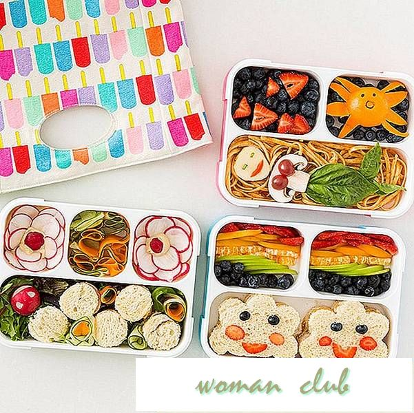 3 Quick + Easy Bento Box Lunch Ideas para volver á escola
