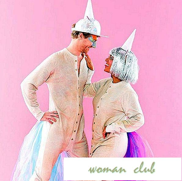 Hierdie DIY Unicorn Couples Costume is GOALS
